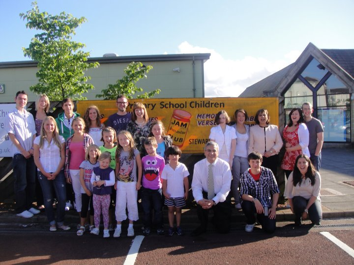 At the Community Centre, Stewartfield, East Kilbride